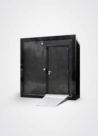 bagno prefabbricato singolo per disabili