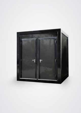 esterno del monoblocco a doppia porta della linea cube comfort