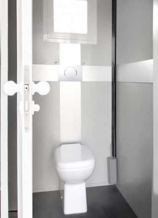 bagno non chimico mobile per eventi stanza interna