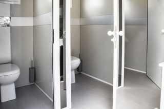 portable wc pod hire interiors