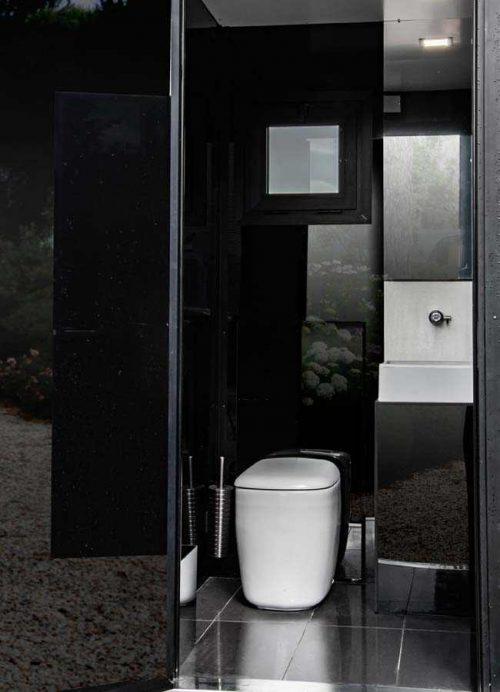 bagno non chimico mobile per eventi dettaglio stanza