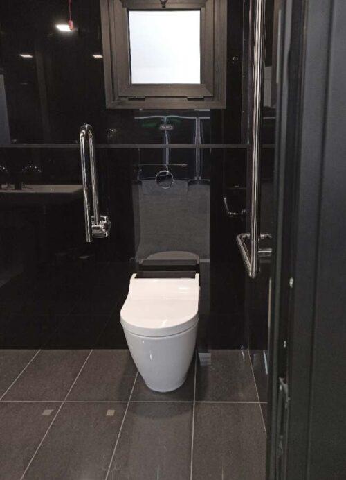 WC bagno singolo per disabili