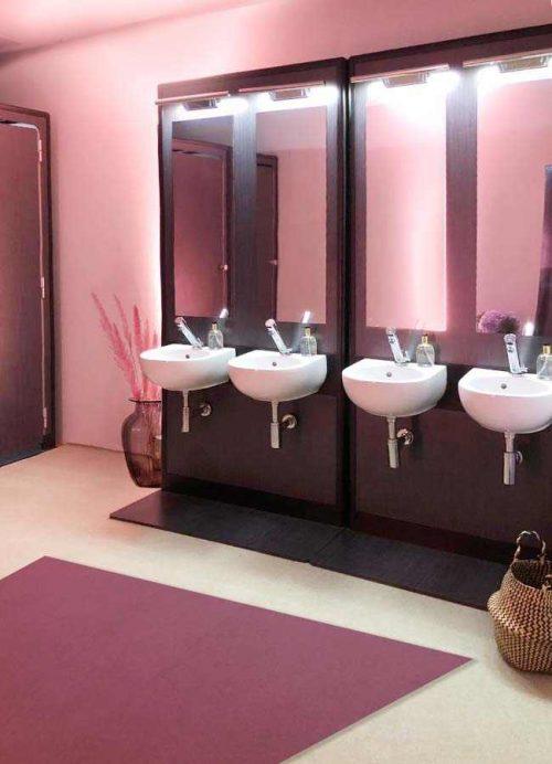 Lavabi Fashion Toilet linea MODO in location di lusso