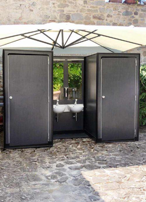 Lavabi e cabine bagno Fashion Toilet in location outdoor